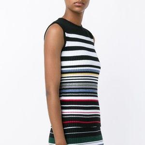 PREEN Line Striped Knit Top